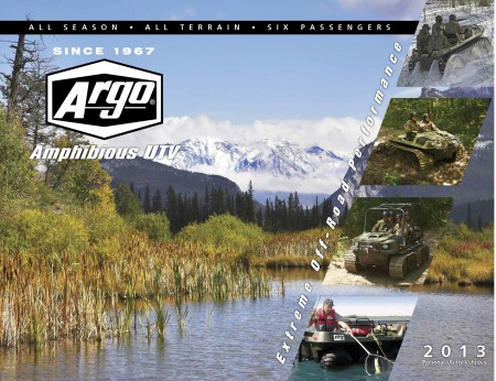 2013 ARGO ATV RECREATION BROCHURE