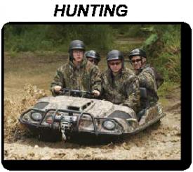 ARGO ATV HUNTING