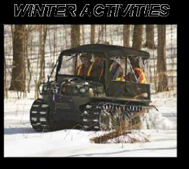 ARGO ATV WINTER SNOCAT